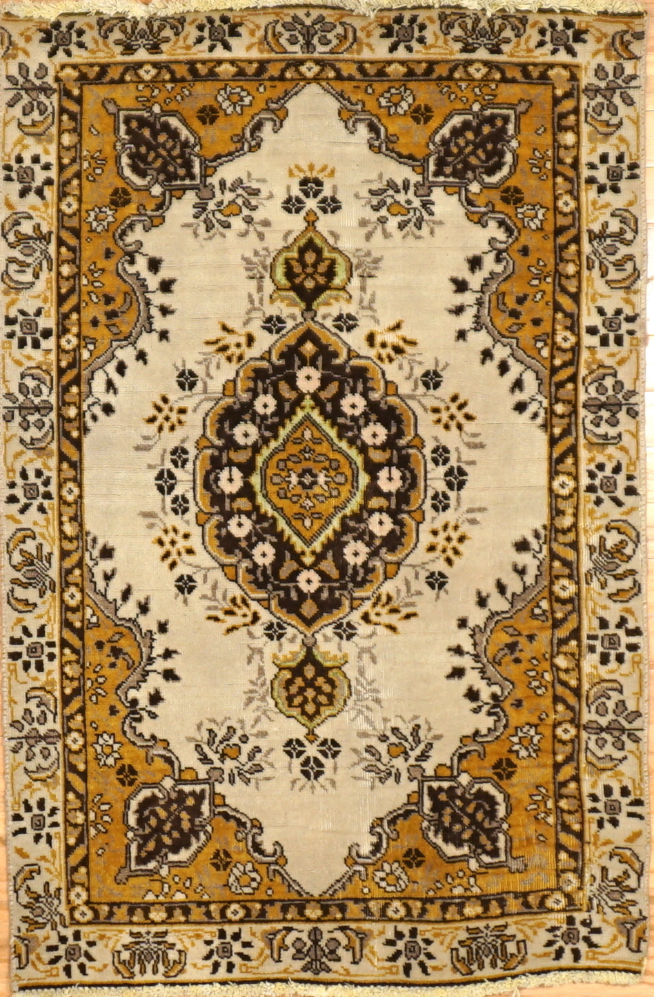 Old Small Size Persian Rug Charlotte
