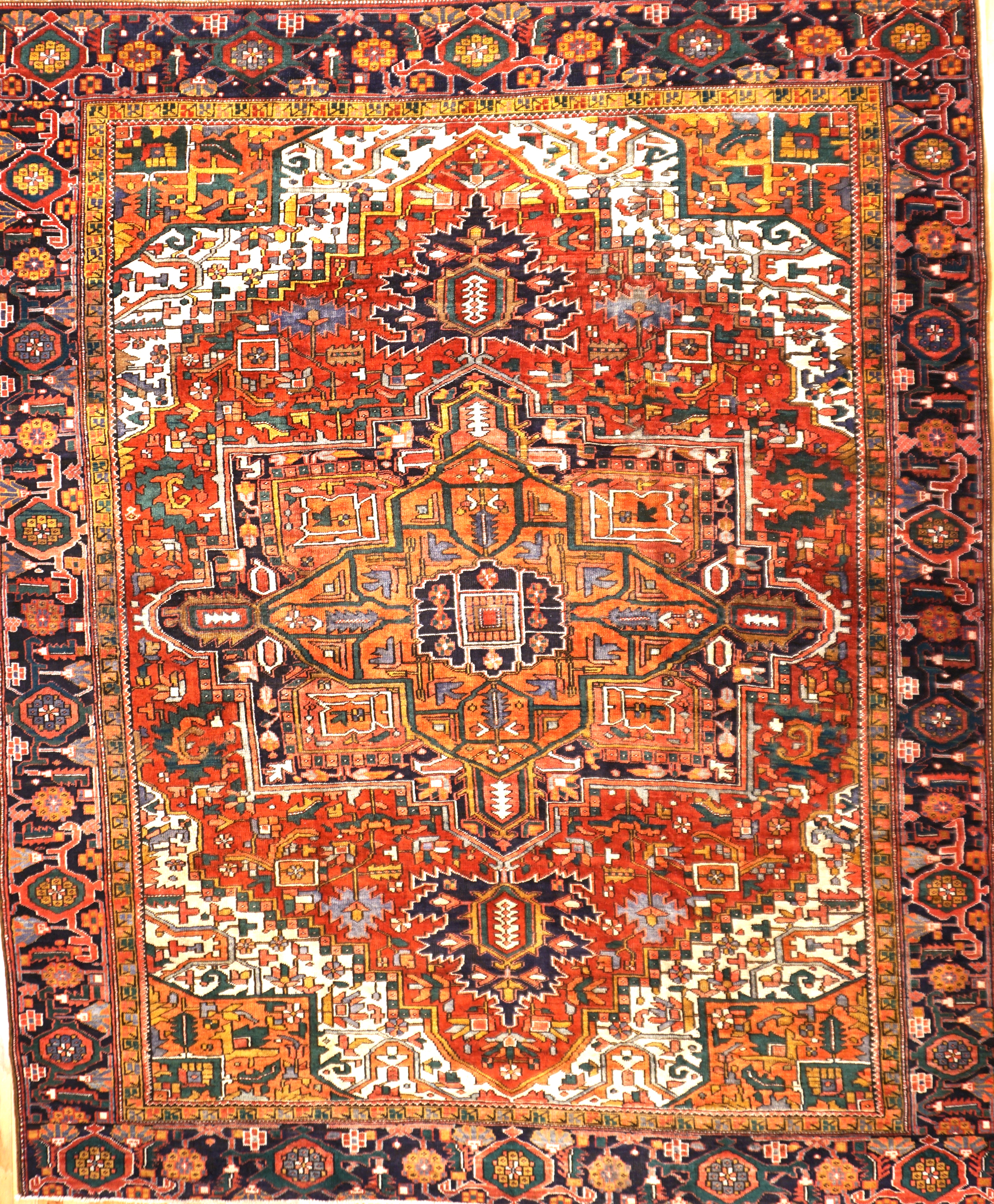 rug quality rugs gallery finest tree of persian silk qum animal on design life traditional taba vintage circa
