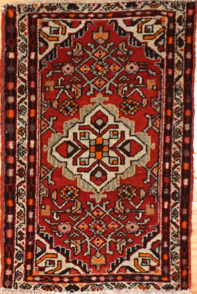 Small Vintage Persian Rug Charlotte